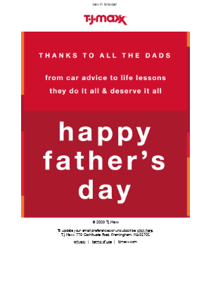 Dad's day advice: the way to his heart is hearing from you​