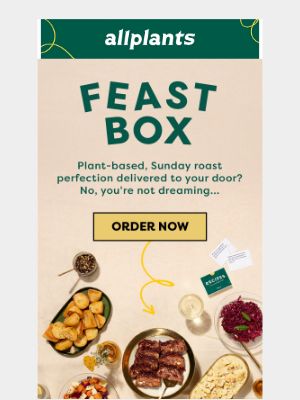 allplants (UK) - NEW : FEAST BOX 🎁