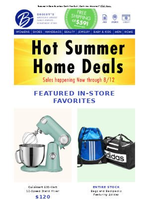 Great Summer Home Deals Are Here!