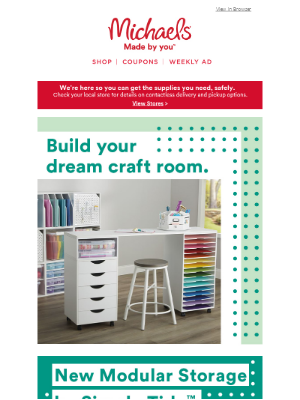 Wow! You Totally Deserve These Modular Storage Tips for Your Workspace.