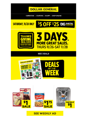 Dollar General - Your Weekly Ad is here.
