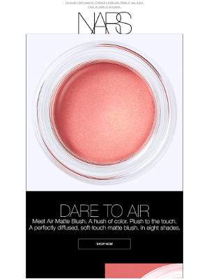 NARS Cosmetics - Introducing Air Matte Blush.