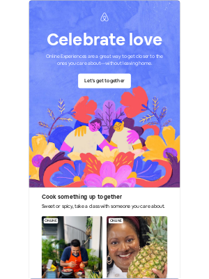 Airbnb - Feel the love, even from afar