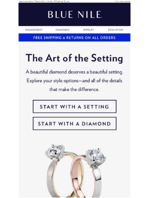 The Art Of The Setting: 5 Ways To Show Off Your Sparkle