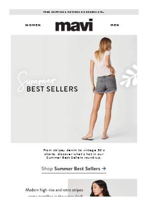 The Best Sellers: Summer Edition
