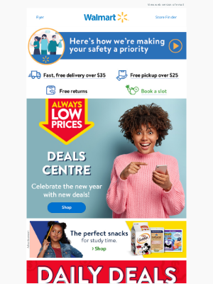 Walmart (CA) - Celebrate the new year with new deals 🎊
