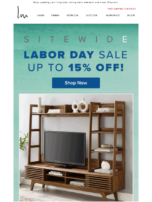 Lexmod - 🌟 Sitewide Labor Day Sale: Up to 15% OFF Starts Today!