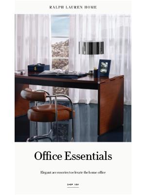 Ralph Lauren - Elevate the Home Office