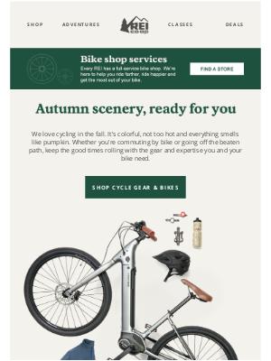 REI - Fall in Love with Cool-Weather Biking