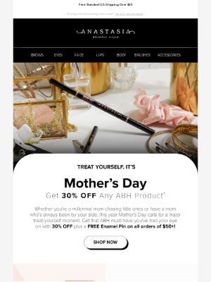 Anastasia Beverly Hills - Celebrate Mother's Day!