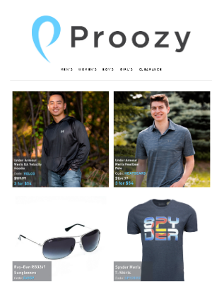Proozy - Spyder T-Shirts Just $10 Each!