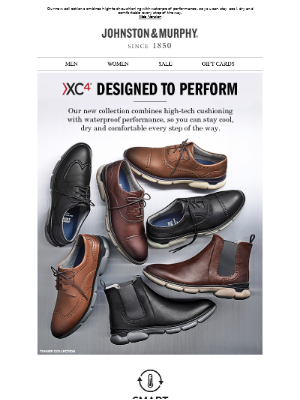 Johnston & Murphy - XC4® Designed to Perform