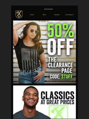 Ranger Up Military and MMA Apparel - get 50% off all Clearance gear!