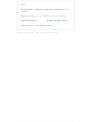 DevaCurl - DevaCurl subscribe request