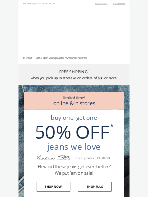 Maurices - Jeans on sale! KanCan™, Silver & more! 👖