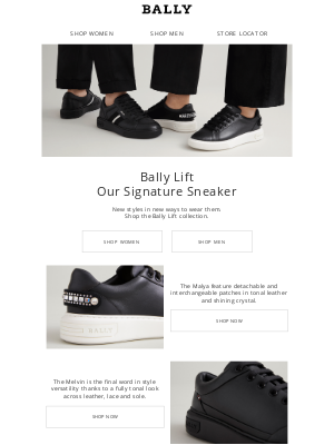 Bally - New Bally Lift Sneaker Styles for the New Year