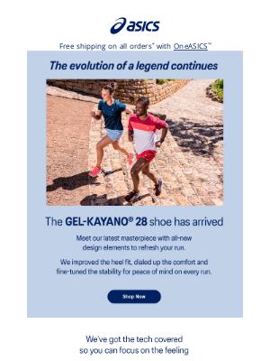 ASICS - GEL-KAYANO® 28 is HERE!