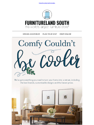 Furnitureland South - Cozy. Cool. Casual.