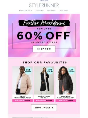 Stylerunner - Further Markdowns Added⚡