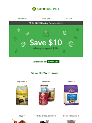Choice Pet Supply - Everything You Need for Your Pet!