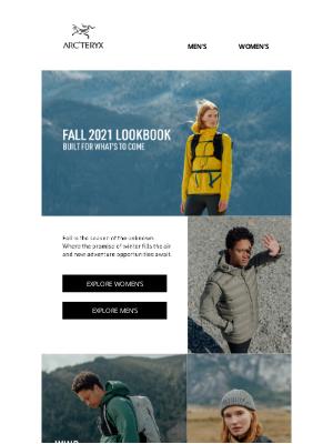 Arc'teryx - Fall 2021 Lookbook is here
