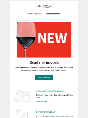 Total Wine & More - What's New in July + Coupon