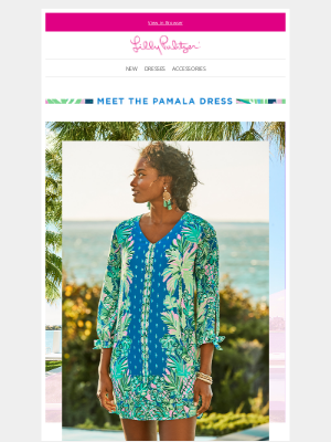Lilly Pulitzer - A new dress – inspired by your favorite top
