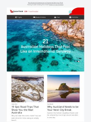 Qantas (AU) - 21 Australian Holidays That Feel Like an International Getaway