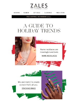 Zales - Your Guide to Holiday Trends