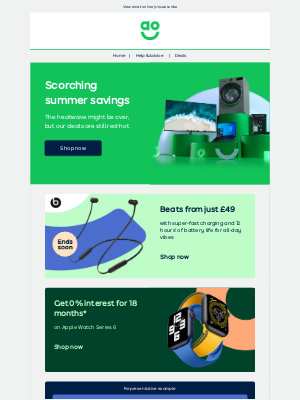 AO (UK) - Summer savings on the hottest tech | Beats from just £49