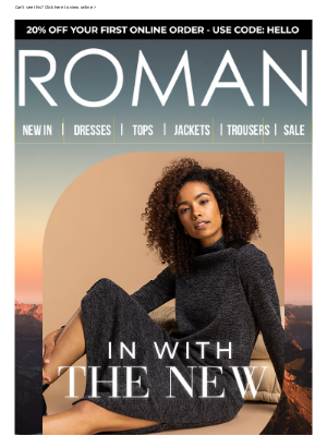 Roman Originals (UK) - Finally, some good news!