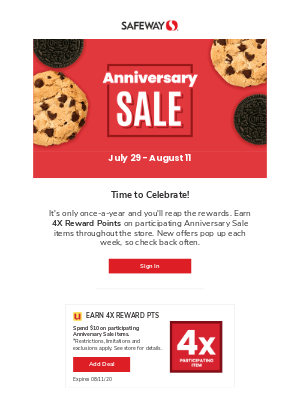 Our Anniversary Sale starts tomorrow! 🎈