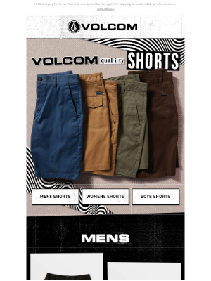 Volcom - SHORT email 🩳