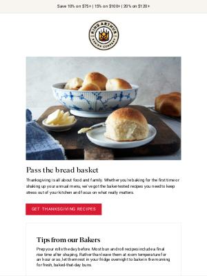 King Arthur Flour - 4 Delicious Dinner Roll Recipes