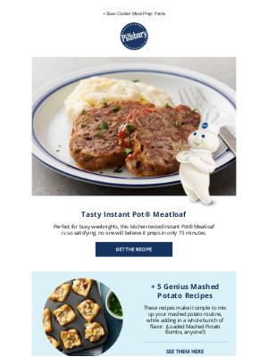 Pillsbury - Tasty Instant Pot® Meatloaf