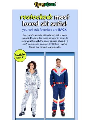 Tipsy Elves - ski suit RESTOCK - your favs are back ❄️