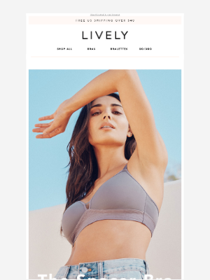 Lively - THE BRA THAT WENT VIRAL