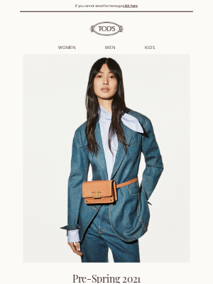 TOD'S - Tod's presents the Pre-Spring 2021 campaign
