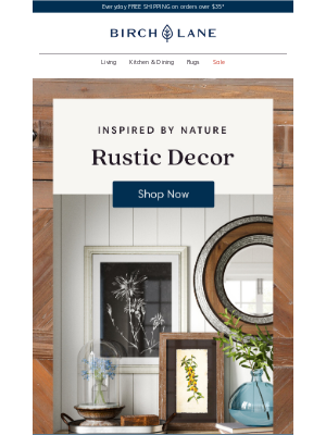 Birch Lane - RUSTIC finds you'll love forever >