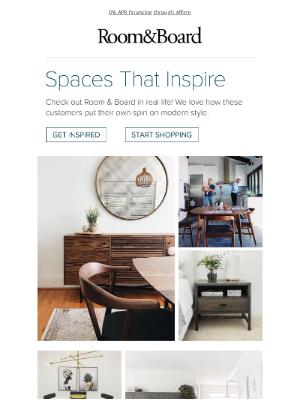 Room & Board - See Room & Board in real homes