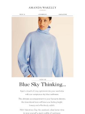 Amanda Wakeley (UK) - Blue Sky Thinking...