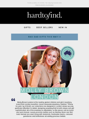 HardToFind AU - Spotlight on: Molly Brown London ✨🇬🇧