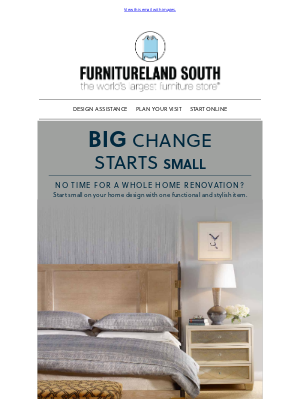 Furnitureland South - Refresh Your Space