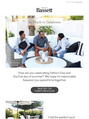 Bassett Furniture Industries - Sunshine and Celebration ☀️