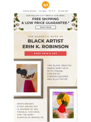 AllPosters - Gift them an EMMY nominated Black artist's work.
