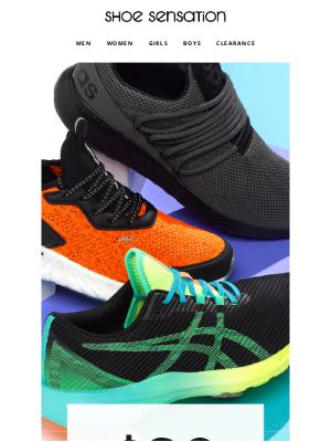 Shoe Sensation Inc - 🔥  HOTTEST Athletic Trends $20 OFF $75+ Online!