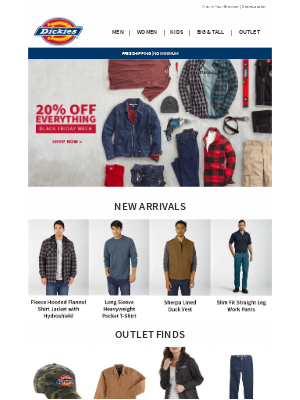 Dickies - 20% Off Everything | Check These Out