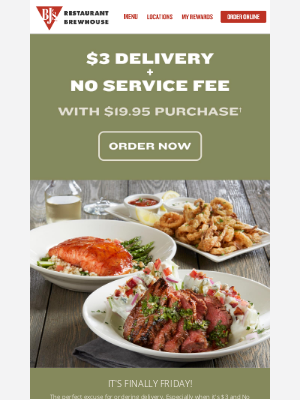 BJs Restaurants - The Perfect Excuse For Ordering Delivery!