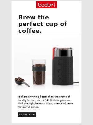 All you need to brew the perfect cup of coffee