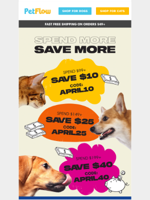 PetFlow - Celebrate National Pet Day with Savings on Your Favorite Pet Products!
